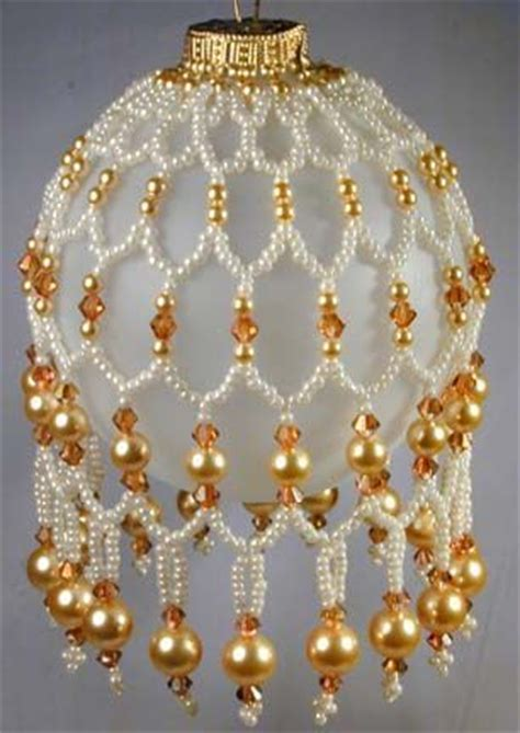 best 25 beaded ornament covers ideas on