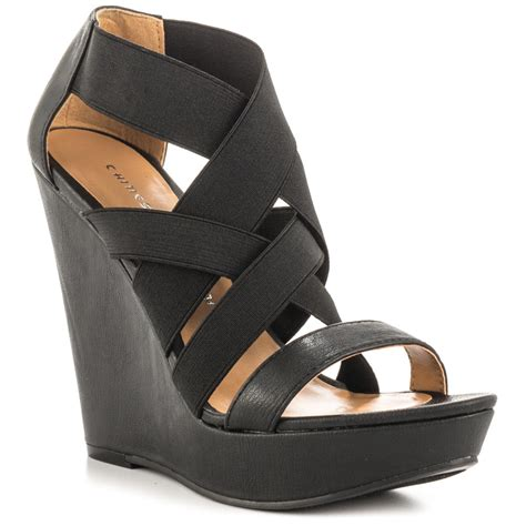 Grosir Wedges Black Belang 1 Buy Grosir Sandal Wedge 5 Inch From China Sandal