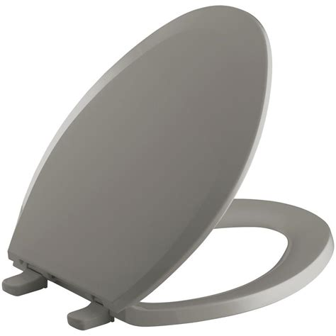 kohler toilet seat kohler lustra elongated closed front toilet seat in
