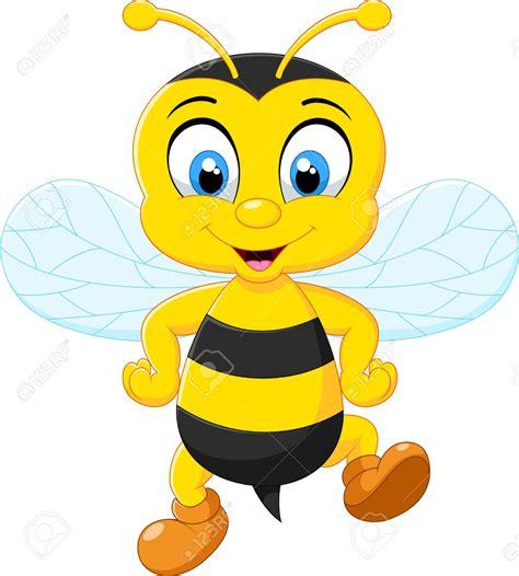 imagenes animadas jpg 42208899 abejas adorables dibujos animados posando foto de