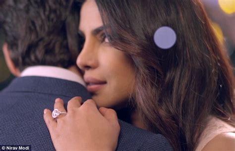image of priyanka chopra engagement ring priyanka chopra flaunts engagement ring daily mail online