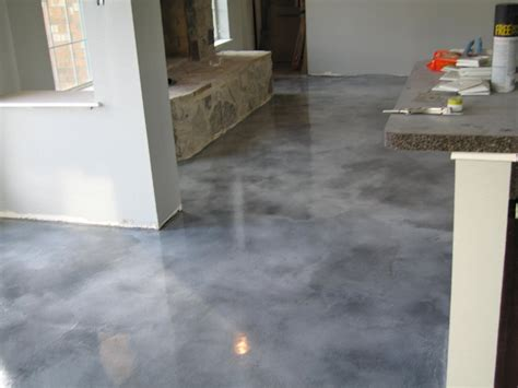 acid stain concrete decorative concrete fort