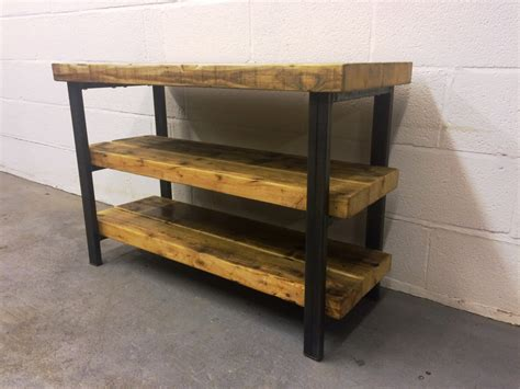 industrial tv stands industrial chic reclaimed tv stand media centre coffee table