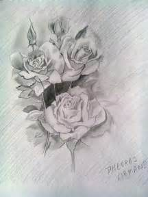 sketches of roses tattoos archives pencil drawing collection