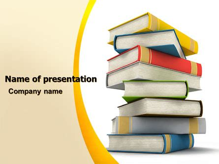 Essential Reading Powerpoint Template Backgrounds 05494 Poweredtemplate Com Reading Powerpoint Template