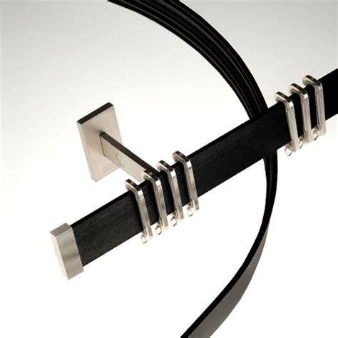 black curtain rails swish modal aluminium curtain track system ebay