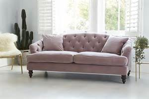 pink velvet sofa why you should probably buy a velvet sofa in 2017 swoon