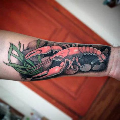 crawfish tattoo 52 amazing crawfish ideas about fish golfian