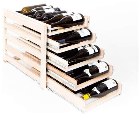 winelogic wine rack 30 bottle contemporary wine