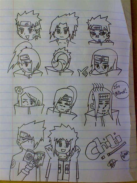 chibi naruto shippuden characters picture