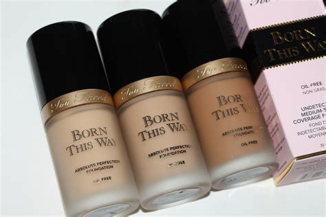 Foundation Faced Born This Way Faced Born This Way Foundation Review Swatches