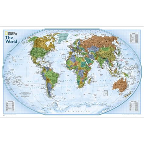 world of rivers map national geographic world explorer wall map national geographic store