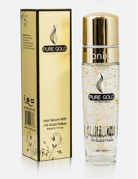 Shiny Gold Serum gold flakes hair serum 80ml iso