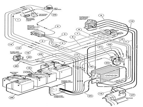 yamaha g16 golf c wiring diagram electric yamaha g16 parts