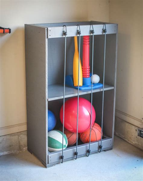 Garage Storage For Balls Best 25 Storage Ideas On Garage