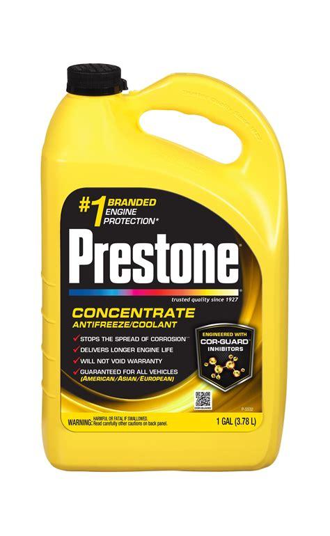 color of antifreeze prestone af2100 extended 50 50 antifreeze 1 gallon
