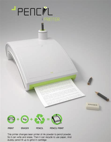 Neat Stuff At Yanko Design by Awesome Futuristic Technology 17 Cool Concept Printers