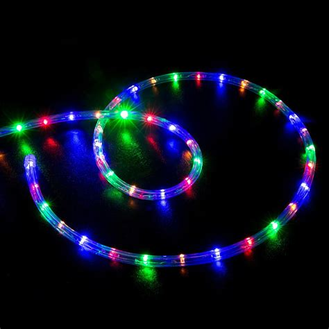 multi color led rope christmas lights