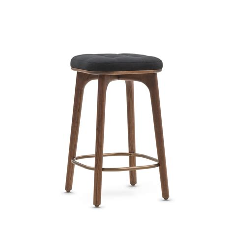 Small Black Bar Stools by Utility Bar Stool Black Fabric Small Stellar Works