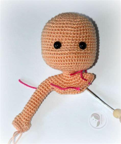 amigurumi oval pattern crochet one piece doll tutorial amigurumi pinterest