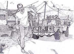gta 5 coloring pages gta 5 trevor philips by bigdadybear on deviantart