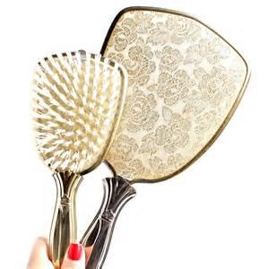 Vanity Hair Brush Set Vintage Vanity Set Silver Tone Hair Brush By Maejeanvintage