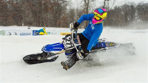 snow motocross bike 100 snow motocross bike santa claus in a red coat