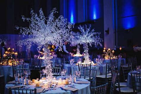 winter themed wedding centerpieces schenectady s finest wedding and event venue key at
