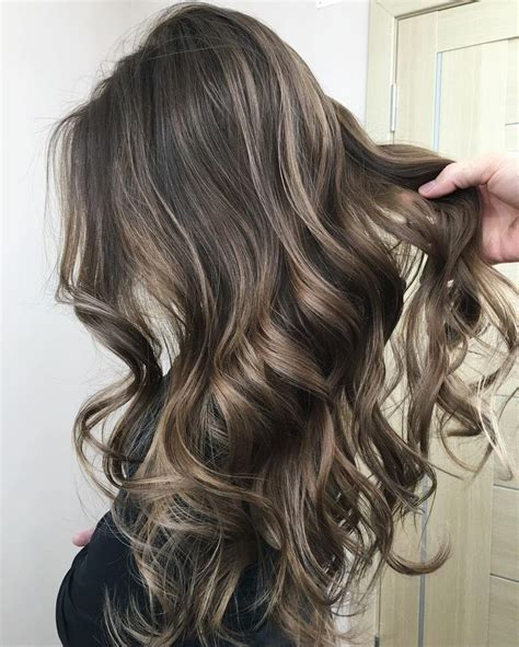 medium ash brown hair color over highlights cool ash brown hair with highlights random check more