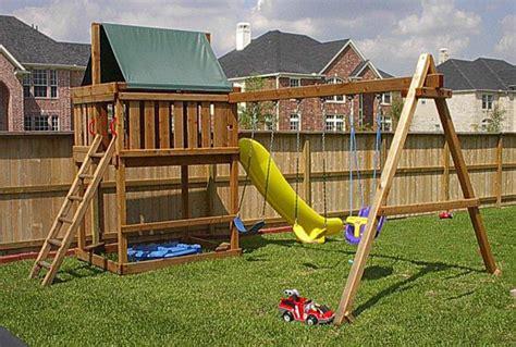 do it yourself swing set swing set plans do it yourself wood swing sets plans a