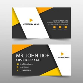 business name template visiting card vectors photos and psd files free