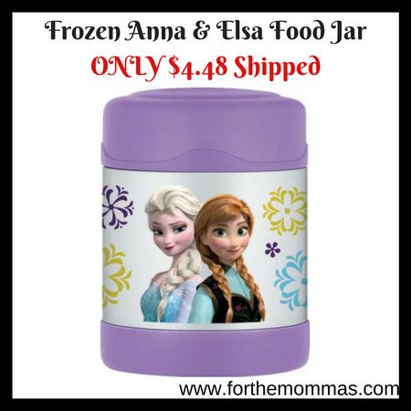 Barnes And Nobles Sunday Hours Frozen Anna Amp Elsa Food Jar 10 Oz Only 4 48 Shipped Ftm