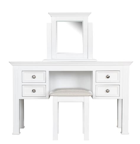 White Dressing Table With Drawers modern white wooden dressing table with drawers and square mirror combined with white wooden