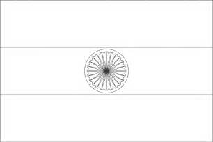 indian flag coloring pages
