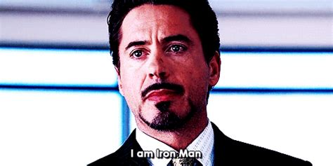 iron man gif find share giphy