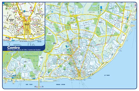 printable street map lisbon large lisbon maps for free download and print high