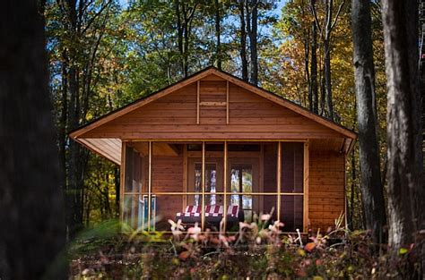 cabin mobile homes with aesthetic design and good comfort escape compact mobile home is aesthetic and eco conscious