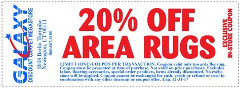 the rug retailer discount code galaxy carpet store coupons galaxy discount carpet store provides connecticut s largest
