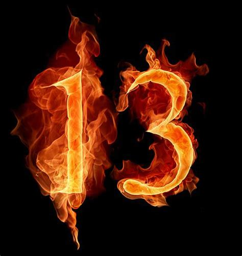 s day number 13 number 13 on number 13 friday the 13th and