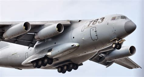 military transport y 20 strategic military transport aircraft arrives for
