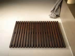 Wooden Floor Mats For Bathroom Bathroom Types Of Wooden Bath Mat With Floor Design