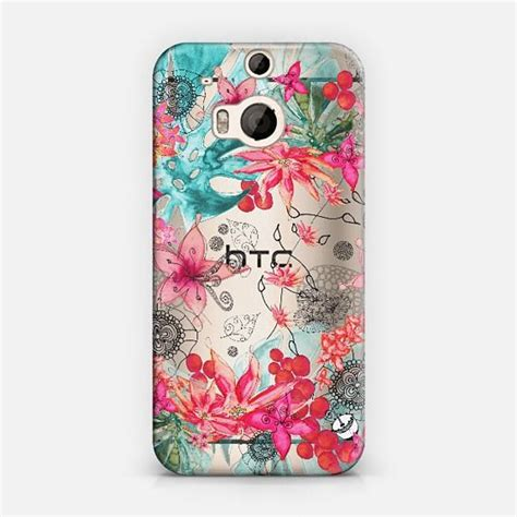 cute themes for htc tropical garden htc one m8 transparent case gardens