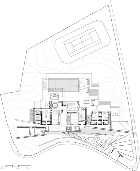 Country House Plan gallery of single family property in marbella a cero 63