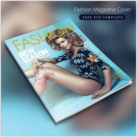 21 best magazine cover page designs psd templates web