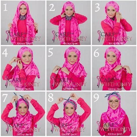 tutorial hijab pesta ultah cara memakai jilbab ke pesta pernikahan