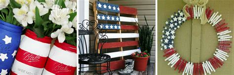 flag decorations for home a pop of patriotism american flag home decor ideas
