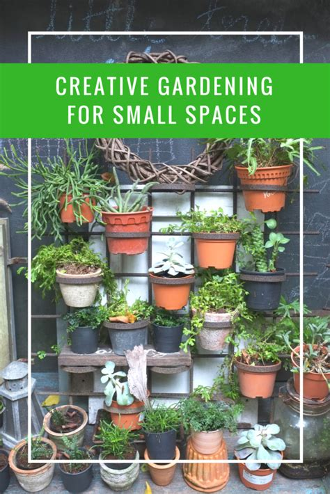 Gardening Ideas For Small Spaces Creative Gardening For Small Spaces Apartment Living