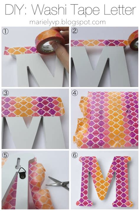 diy washi tape we read diy washi tape letter and key covers