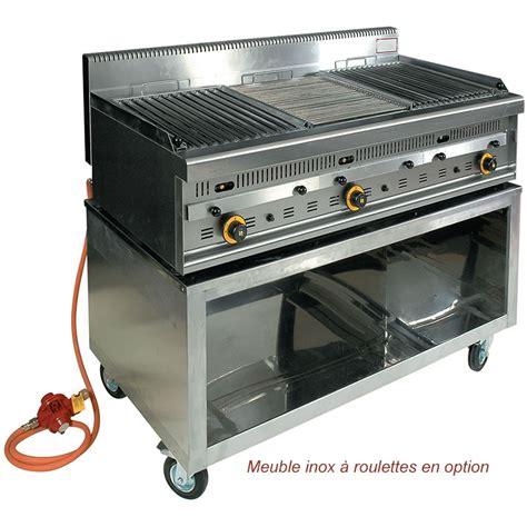 Barbecue Gaz Et De Lave by Barbecue Professionnel Gaz Et Pierres De Lave G1270