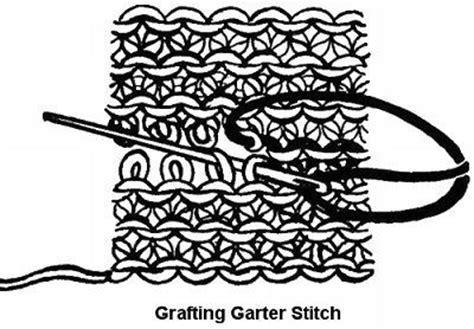 Kitchener Stitch For Garter Stitch by Do Kitchener Stitch Or Grafting Stockinette Garter And